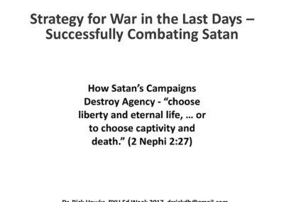 How Satan Campaign Destroy Agency