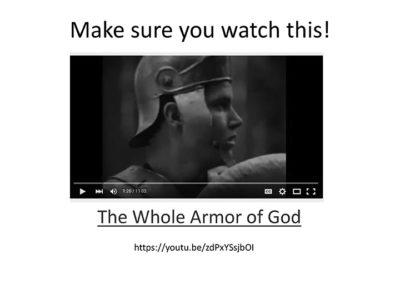Winning This War Against Satan
